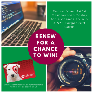 Renew for a chance to win!