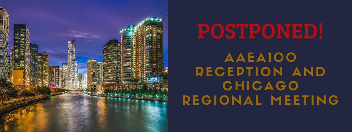 Chicago Meeting Postponed